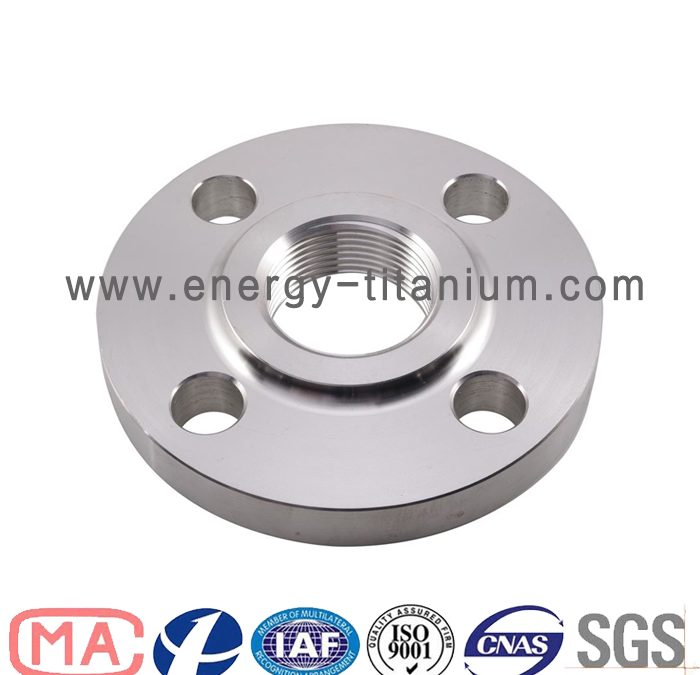 Titanium Threaded Flange